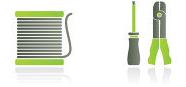Différents types de cordons de brassage RJ45