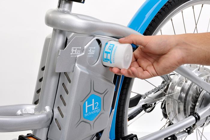 Batterie à hydrogene