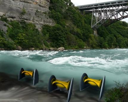 Hydrolienne de riviere