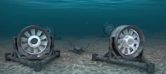 Hydrolienne : l'énergie générée par les courants marins