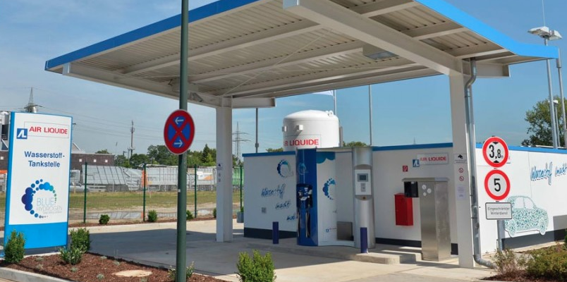 Station service à Hydrogene
